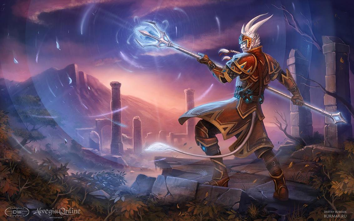 Alvegia Online - Elrik by DevBurmak
