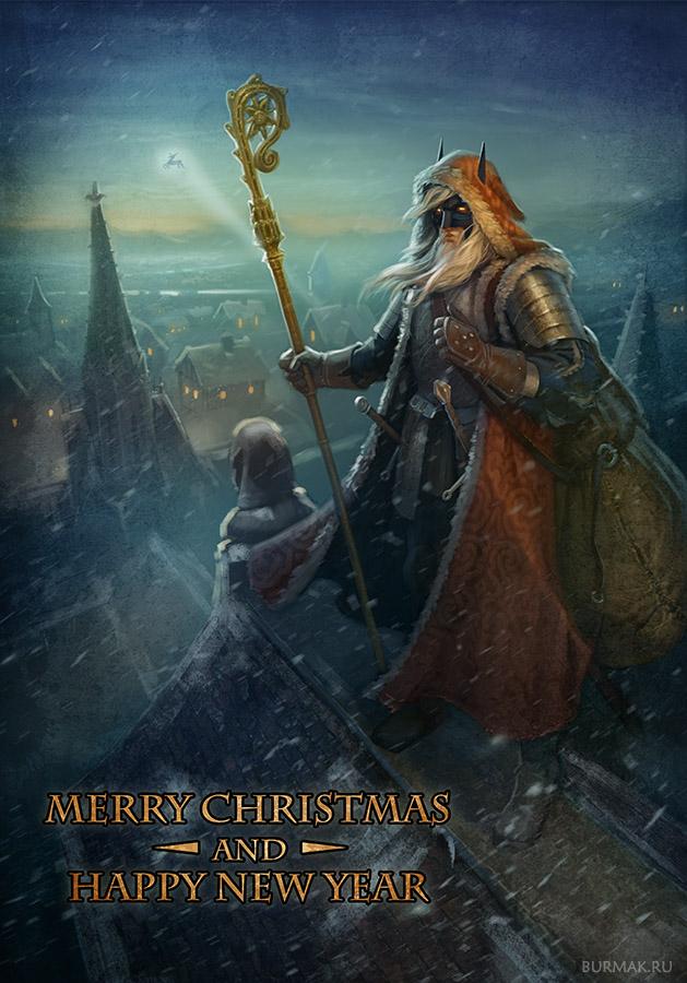 Santa by DevBurmak