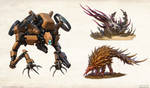 Iron Gods - mobs