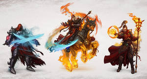 Warlords: Art of War - Mages