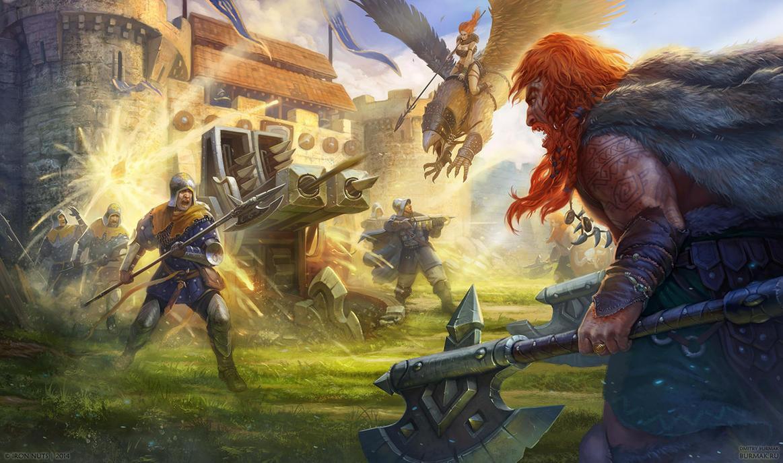 Warlords: Art of War - splash screen by DevBurmak