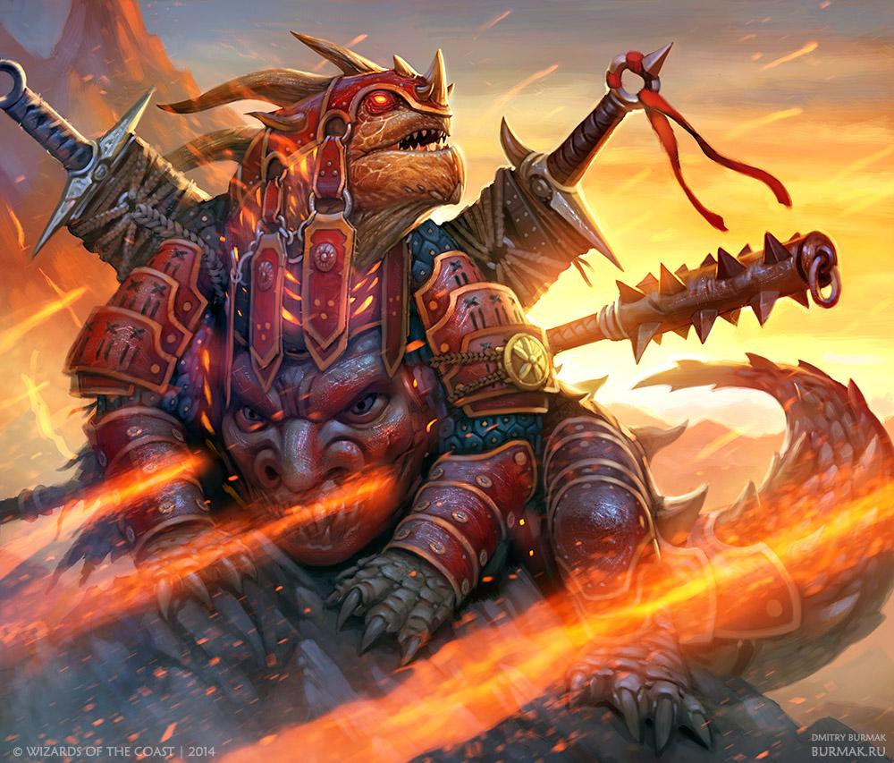 Gaial Command Dragon by DevBurmak