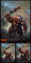 Warlords: Art of War - Troll by DevBurmak
