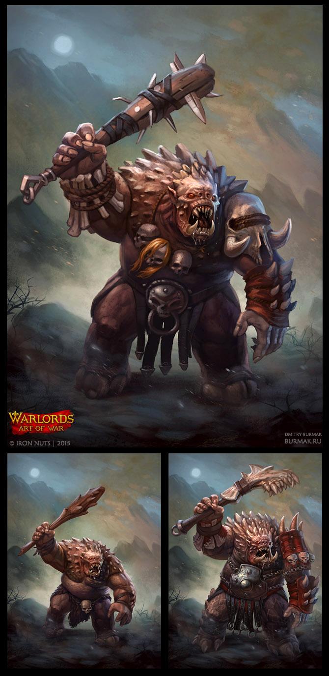 Warlords Art Of War Troll By Devburmak On Deviantart