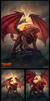 Warlords: Art of War - Manticore