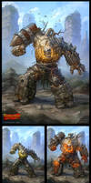 Warlords: Art of War - Golem