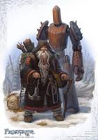Frostgrave Enchanter by DevBurmak