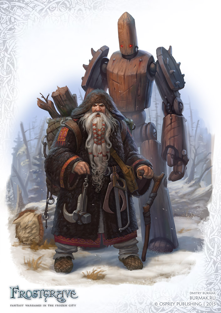Frostgrave Enchanter by DevBurmak