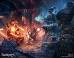 Chamber of the Lich Lord by DevBurmak