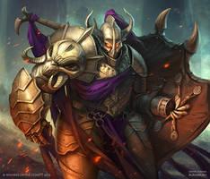 Dark Knightmare by DevBurmak
