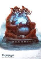 Frostgrave: Ambronnax by DevBurmak