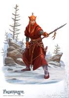 Frostgrave: Monk by DevBurmak