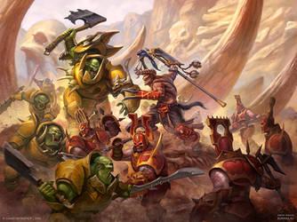 Bloodbound vs Ironjawz by DevBurmak