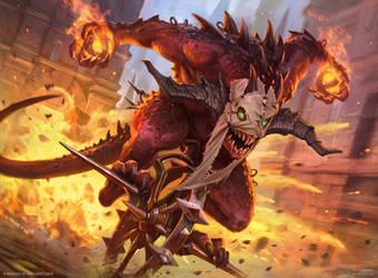 MtG - Mayhem Devil by DevBurmak
