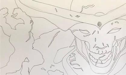 Hulk vs Surtur by Wild74Bill