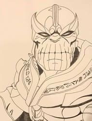 Thanos by Wild74Bill