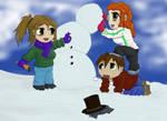 Upheaval - Playin in the snow