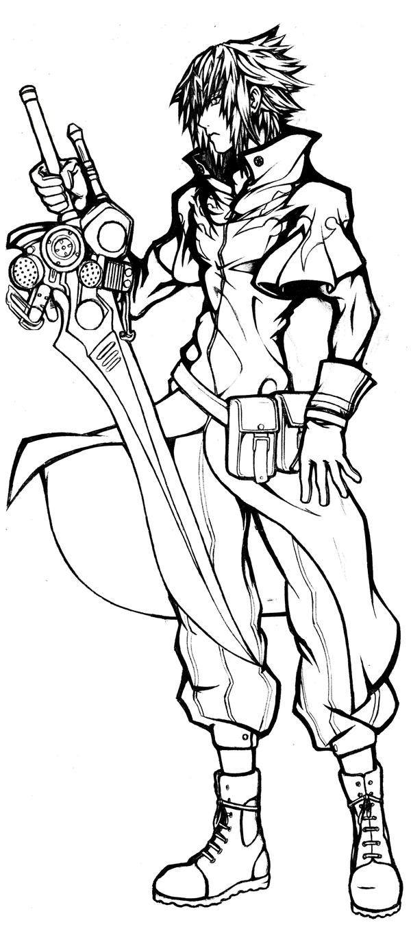 Dissidia noctis lucis caelum by viscioushero on deviantart for Final fantasy coloring pages