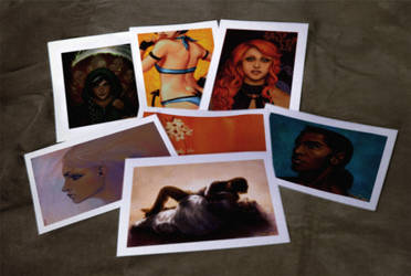 Limited Run Signed Prints by p3p574r