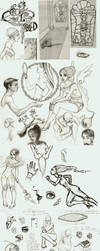 Sketch Dump by p3p574r