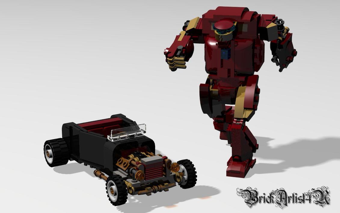 lego iron man 3 wallpaper - photo #11