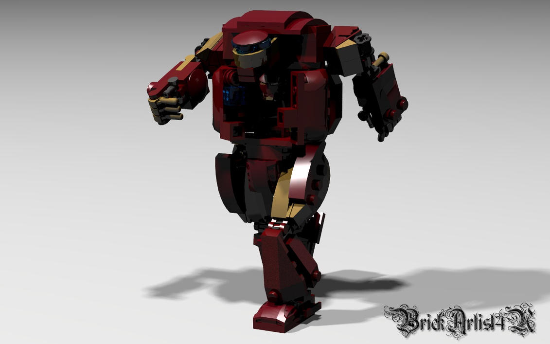 Iron man 3 hulkbuster by brickartist4u on deviantart