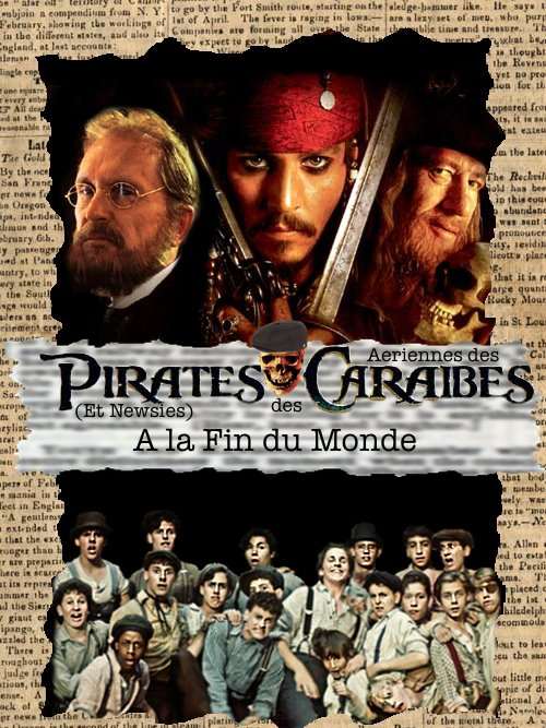 Pirates (et Newsies) des Aeriennes des Caraibes by demicaractere