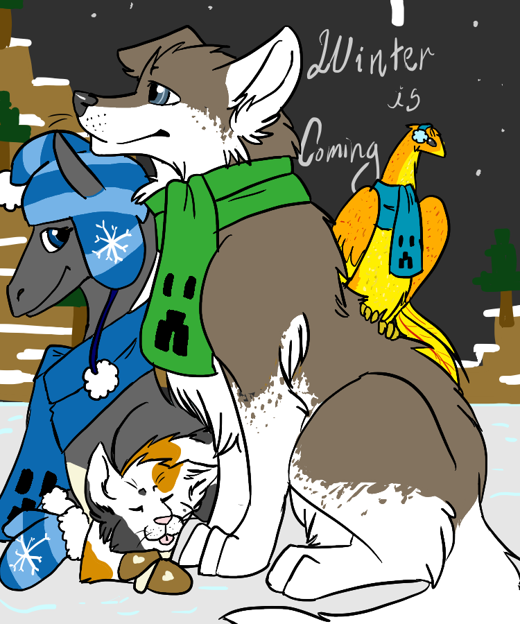 Winter is Coming by TentenIshAWolf