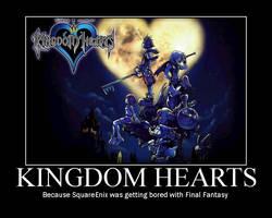 Kingdom Hearts by XxLive-Love-WritexX