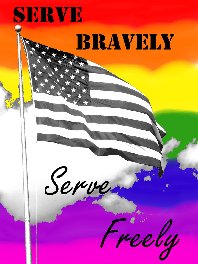 Serve Bravely, Serve Freely by XxLive-Love-WritexX
