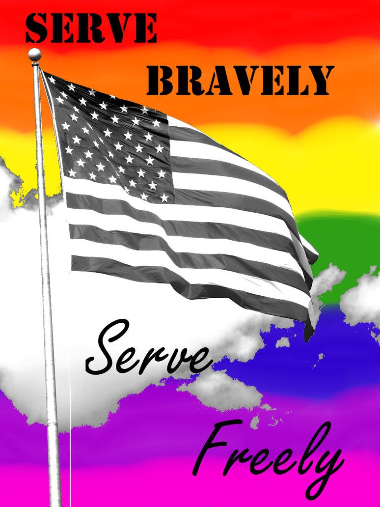 Serve Bravely, Serve Freely by XxLive-Love-WritexX