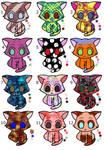 Kitten Adoptables -5 pts each-