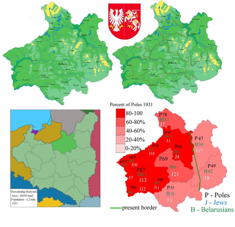 Bialystok Voivodeship collage by Samogost on DeviantArt