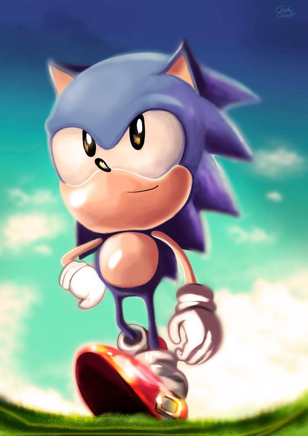 Sonic by CharlieCasado