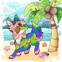 Tropical land by puqqie