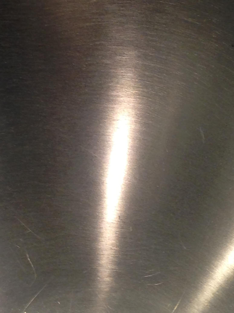 Texture Stainless Steel With Light Deviant By Sfishffrog