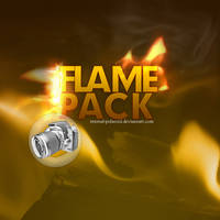 Flame Pack 1 of 2 by fukm