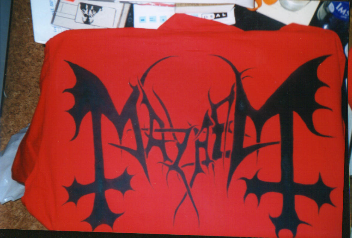 Mayhem Logo by NocturnalSpirit