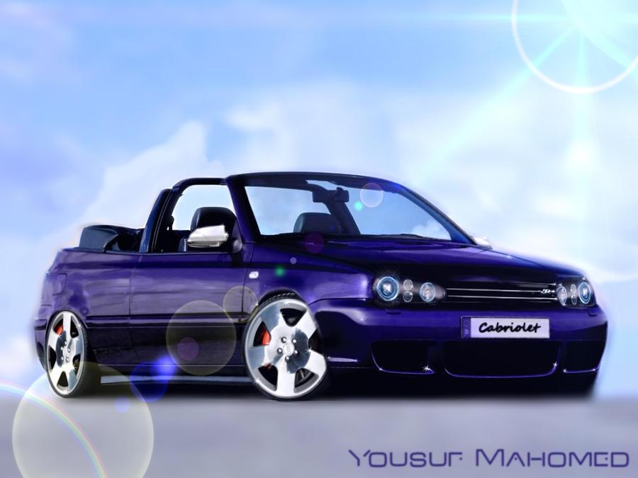 2000 vw golf4 cabriolet by yousufmahomed on deviantart. Black Bedroom Furniture Sets. Home Design Ideas
