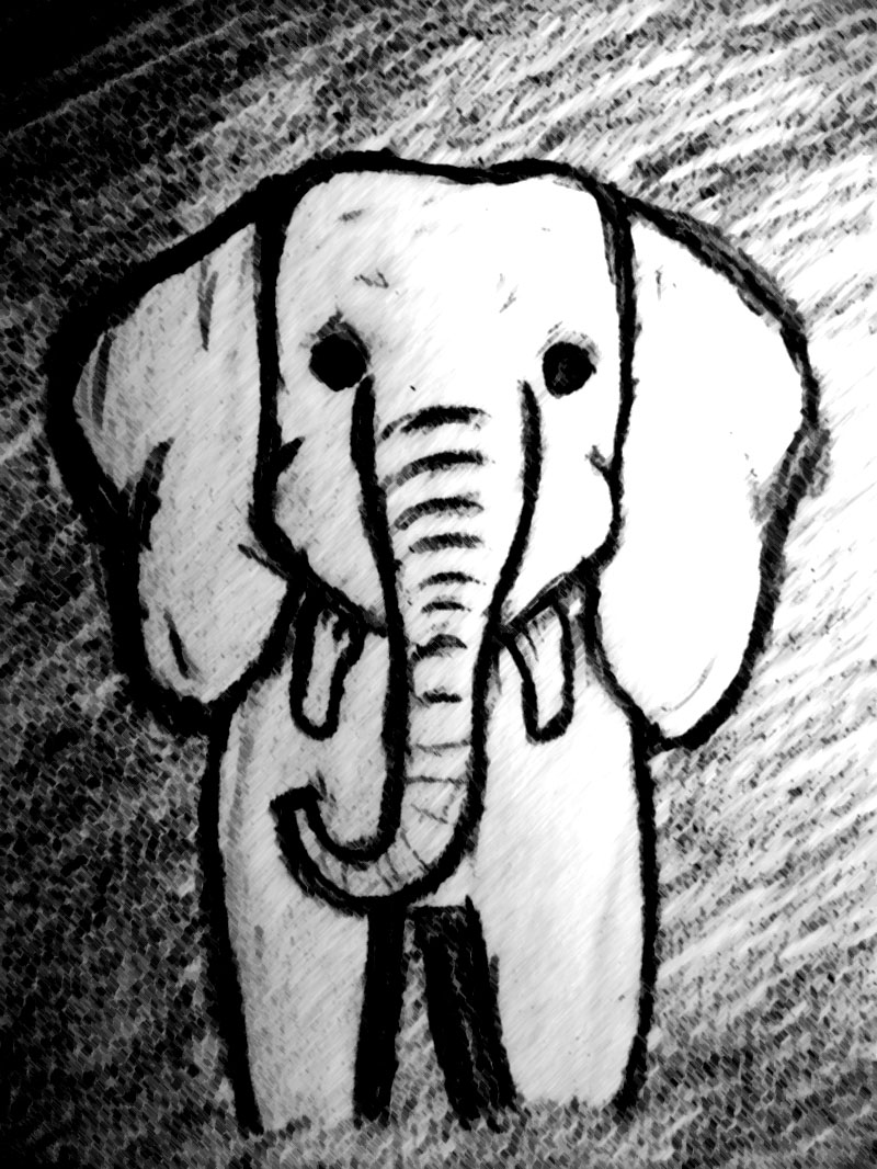 baby elephant sketch 2 by beautifulelephant on deviantart