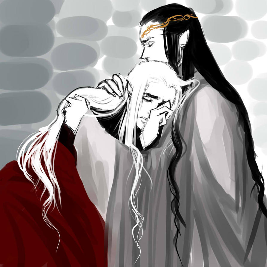 elrond and thranduil relationship help