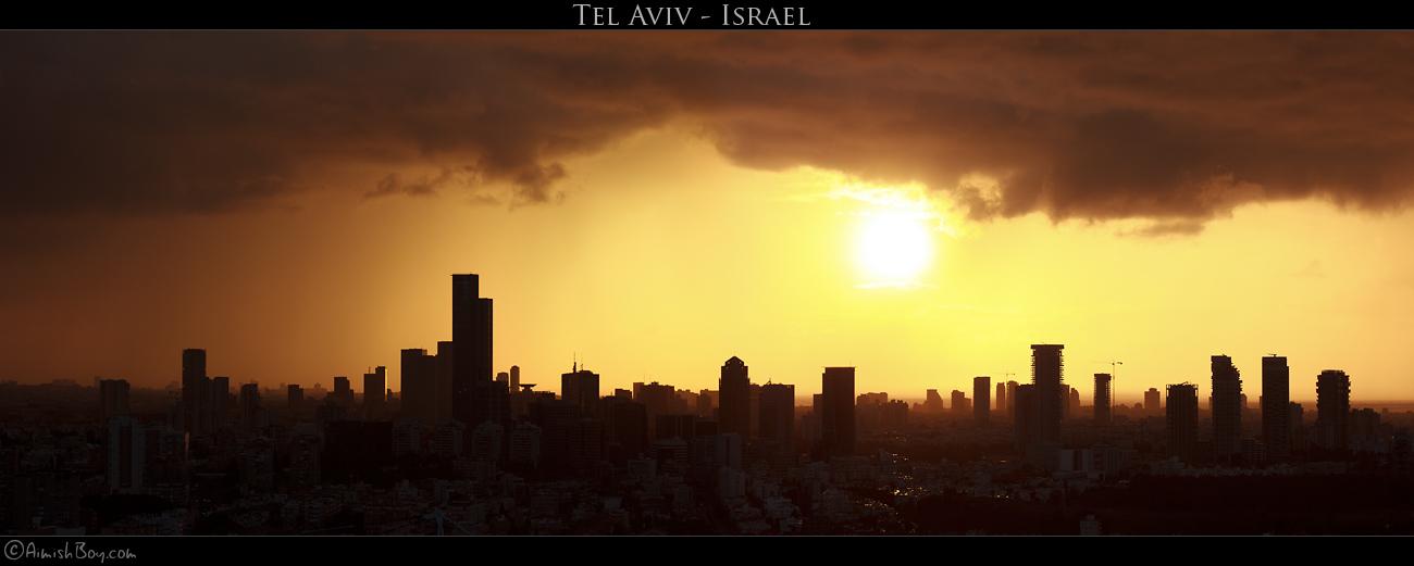 Tel-Aviv by AimishBoy