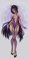 purple evil