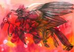 Red-Black Messanger by Natoli