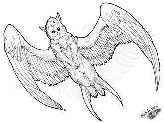 Shreyia Flying by Natoli