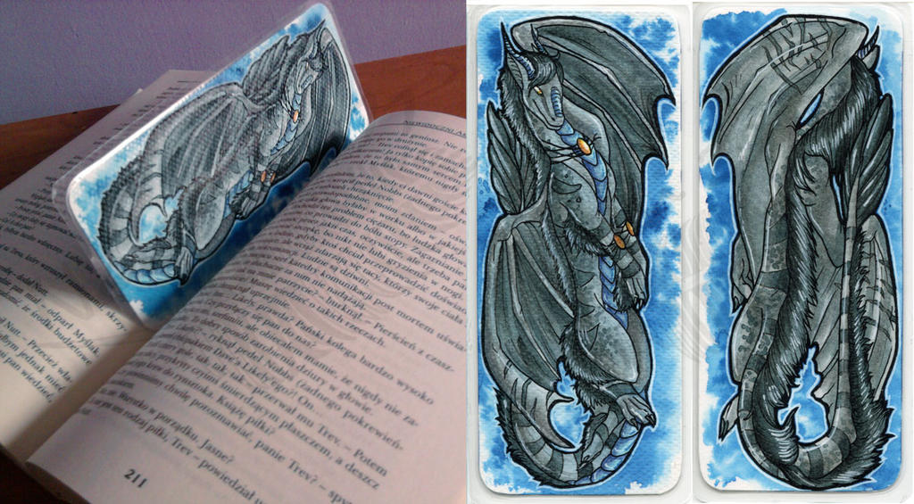 SummerWolfSpirit Bookmark by Natoli
