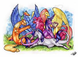Pony or Dragon Meet? by Natoli