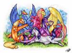 Pony or Dragon Meet?