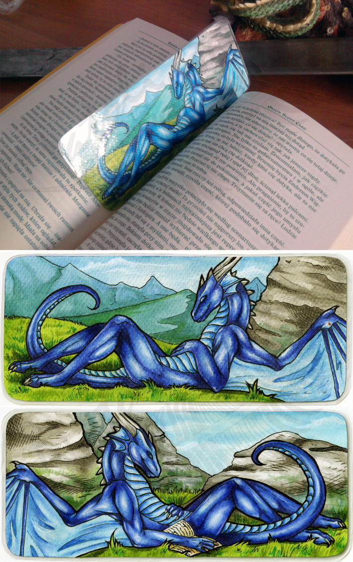 Dragonator Bookmark by Natoli