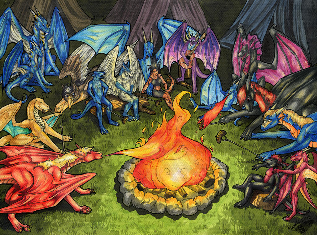 Campfire by Natoli